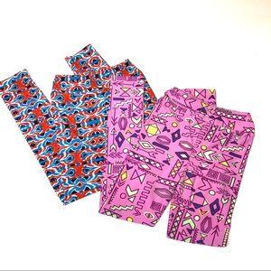 LuLaRoe Girls L/XL Leggings Bundle 118